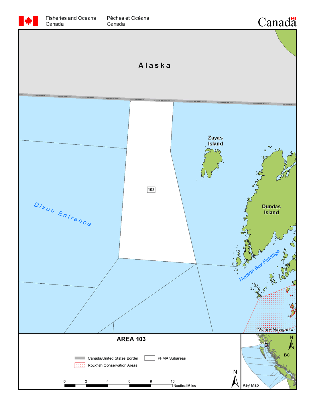 Map: Management Area 103