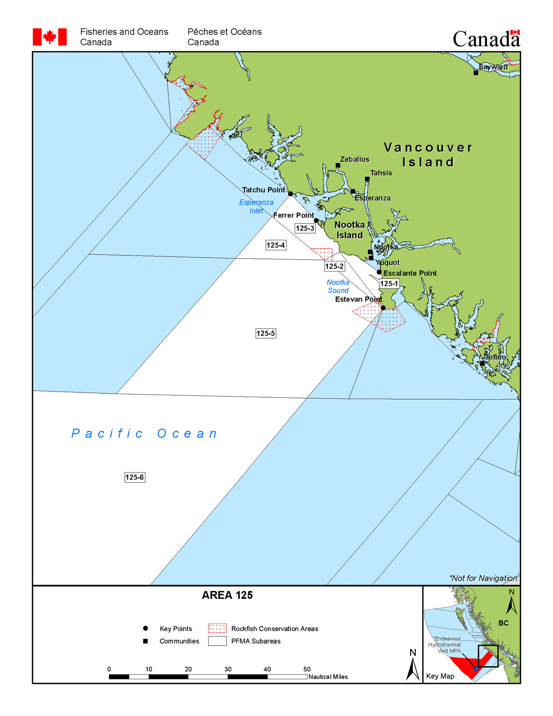 Map: Management Area 125