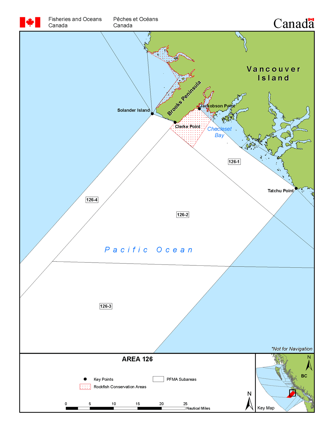 Map: Management Area 126