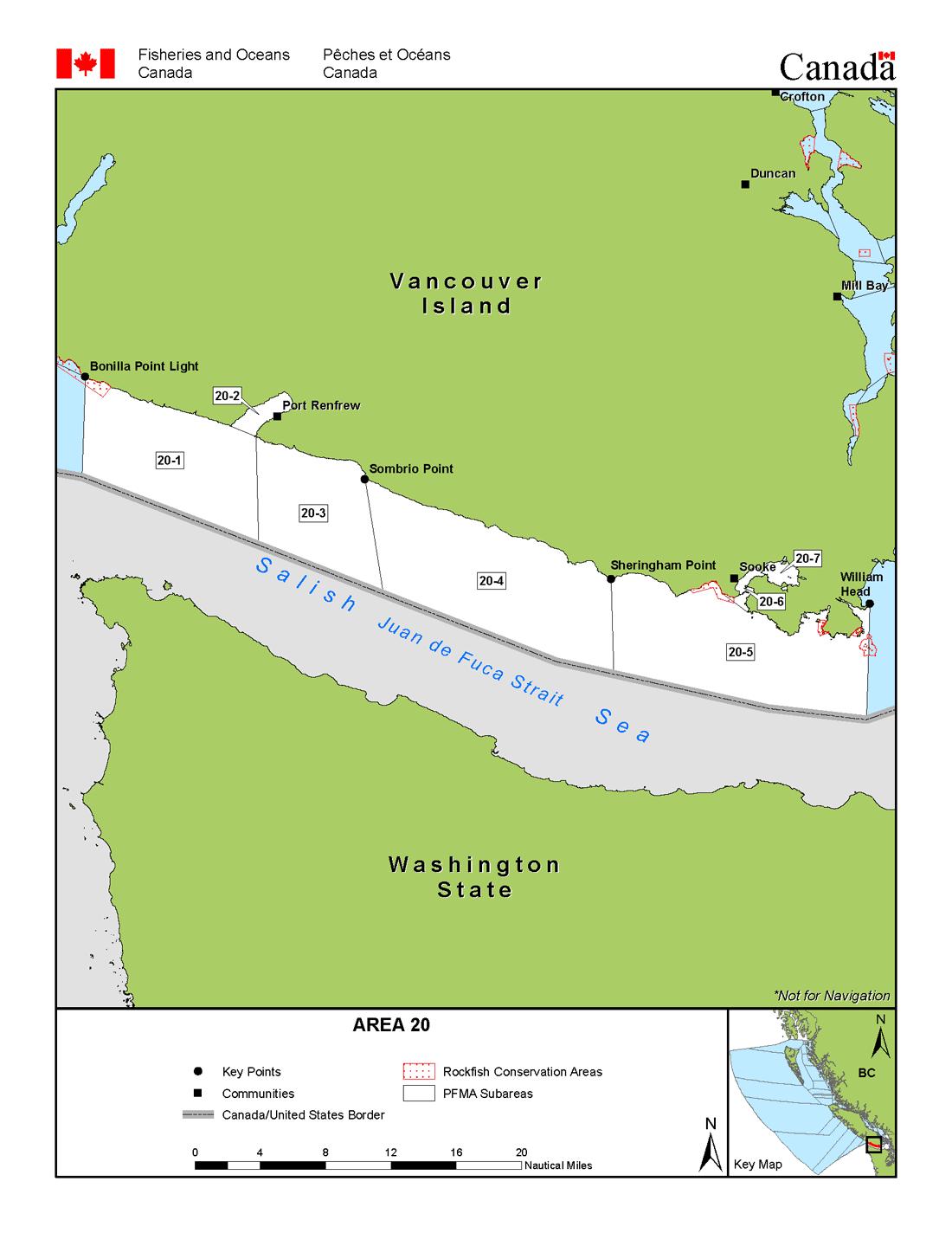 Area 20 sooke port renfrew bc tidal waters sport fishing guide management area 20 nvjuhfo Images