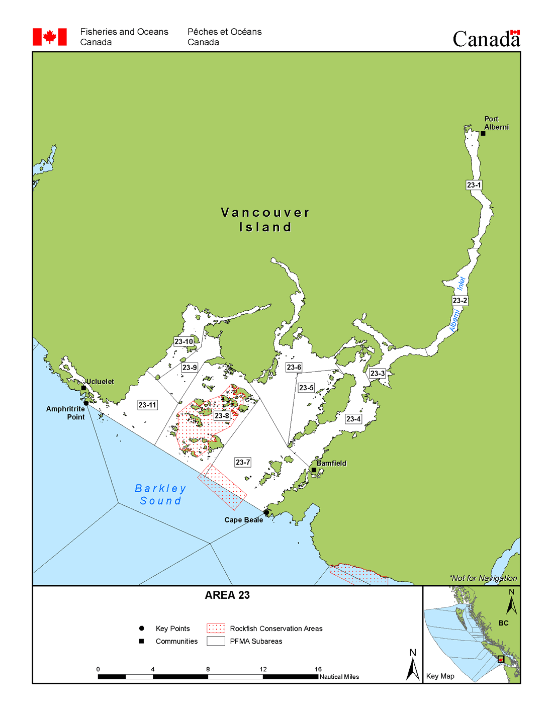 Map: Management Area 23