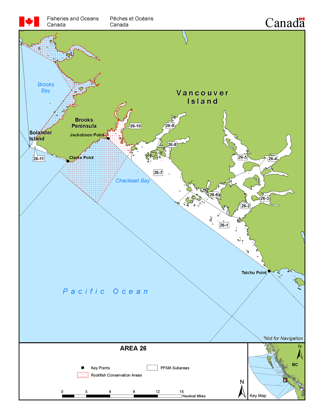 Map: Management Area 26