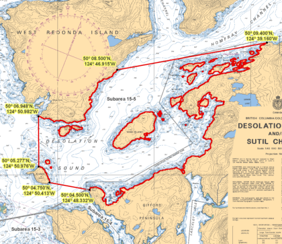 Desolation Sound B.C. Rockfish Conservation Area | Pacific ... on quadra island map, greenwood map, barkley sound map, princess louisa inlet map, kodiak island alaska map, penticton map, new world map, delta map, lower mainland map, hakai pass map, fredericton map, san juan islands map, dabob bay map, sea to sky highway map, columbia river valley map, cherry cove mooring map, new prague mn zoning map, campbell river bc map, noise map, cumberland map,