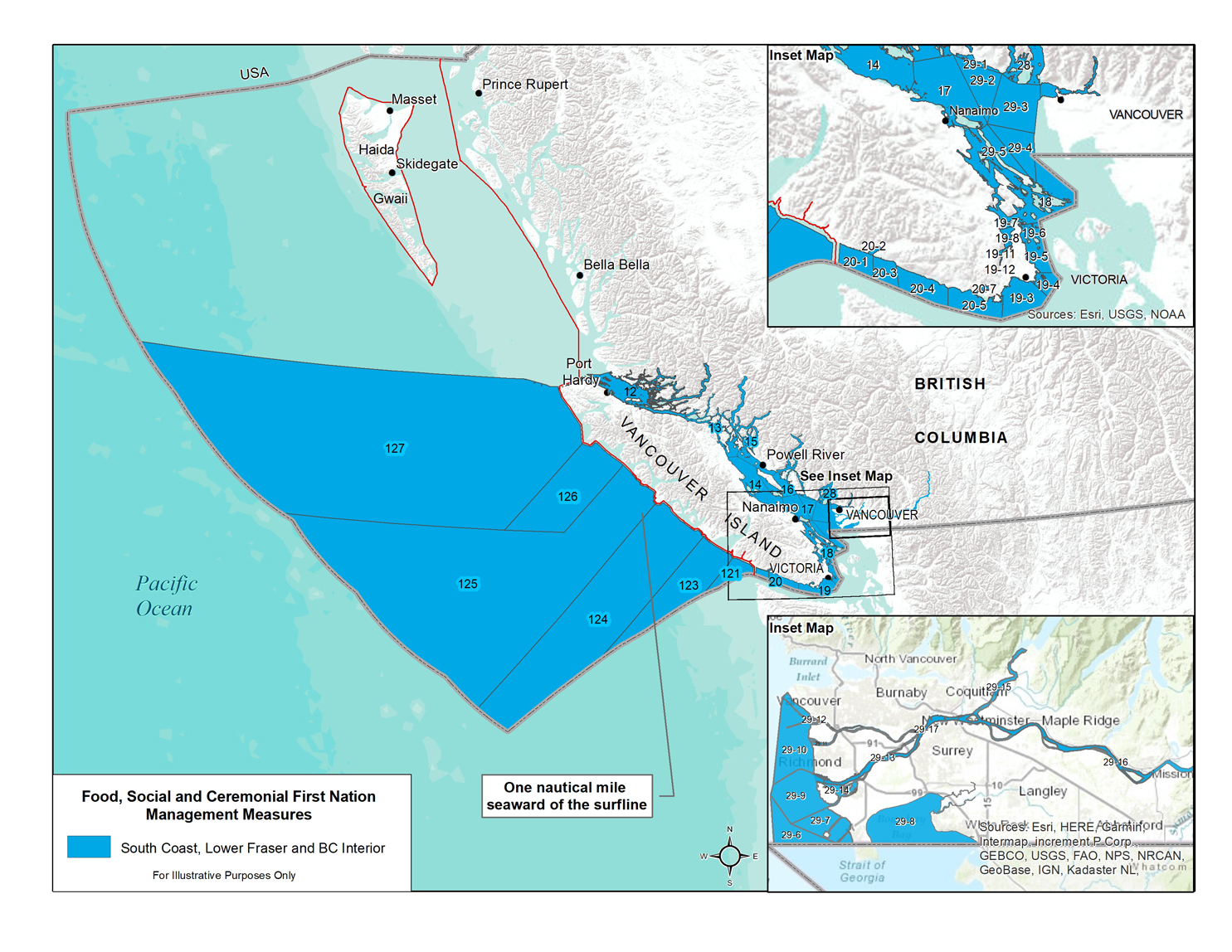 2019 fisheries management measures to protect Fraser River