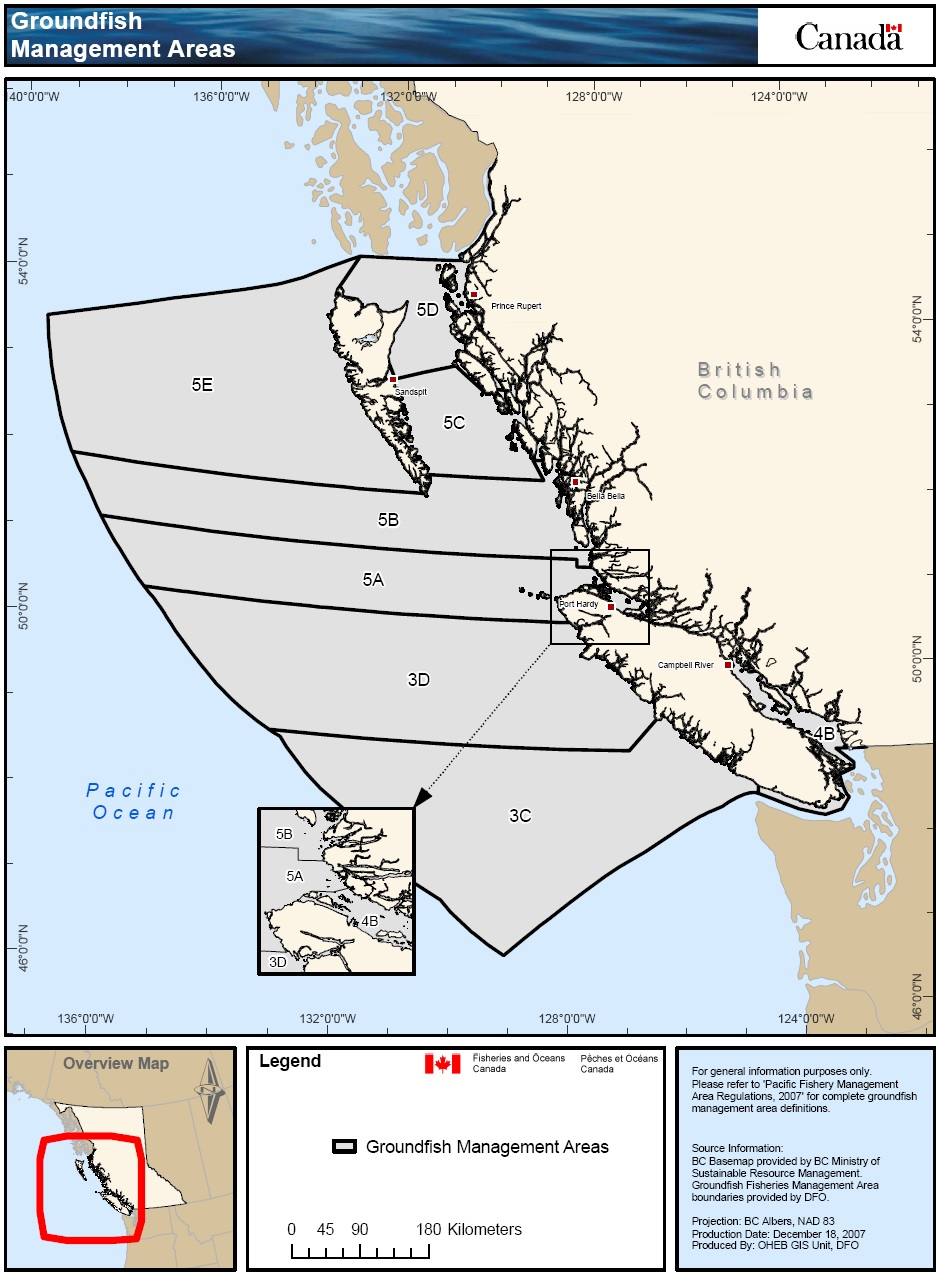 Groundfish 2017 Integrated Fisheries Management Plan Summary Pacific Region Fisheries And Oceans Canada