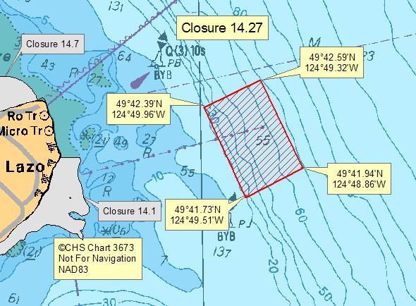 Area 14 Sanitary Shellfish Contamination Pacific Region