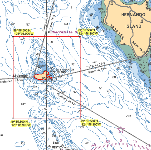 Area 14 Comox Parksville Denman And Hornby Islands Bc Tidal