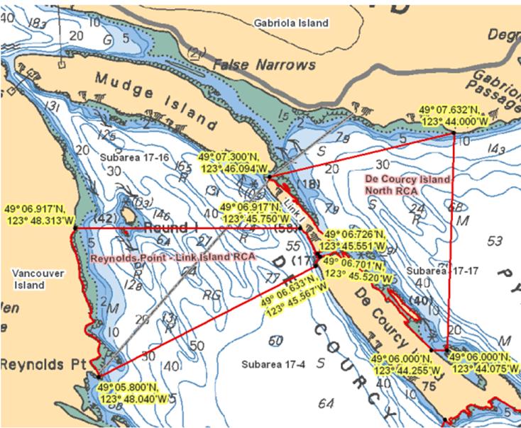 Area 17 (Nanaimo) - BC Tidal Waters Sport Fishing Guide